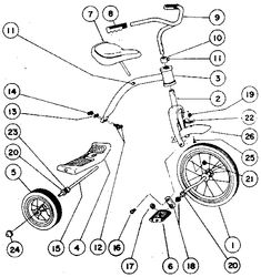 ROADMASTER Tricycle Replacement Parts | Model 6702SR | SearsPartsDirect