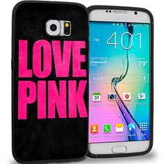 Love Pink Victor for Iphone and Samsung Galaxy Case (samsung galaxy s6 edge plus black)