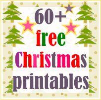 60+ free Christmas printables - kostenlos ausdruckbare Weihnachts-Vorlagen - links | MeinLilaPark – digital freebies