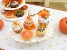 The Mini Food Blog: Halloween and Autumn ~ Paris Miniatures
