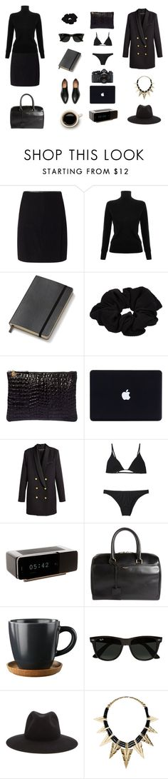 """""""working style for march"""" by ghei on Polyvore featuring Jigsaw, Victoria, Victoria Beckham, Moleskine, River Island, Clare V., Nikon, Minimale Animale, Jonas Damon, Yves Saint Laurent and Ray-Ban"""