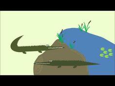 ▶ Krokodillenlied: de krokodillen rock en roll - YouTube