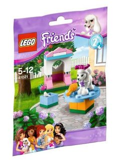 Lovely Castle 41021 and Lego Friends poodle (japan import) by Toyland