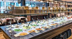 Hiltl is a super good veggie restaurant with an amazing buffet - you are going to eat too much, I promise!