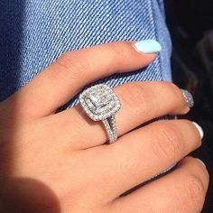 Charles Moissanite Engagement Solitaire Available – Finest Jewelry Wedding Rings Simple, Wedding Rings Solitaire, Beautiful Wedding Rings, Princess Cut Engagement Rings, Wedding Rings Vintage, Halo Diamond Engagement Ring, Bridal Rings, Wedding Jewelry, Wedding Engagement