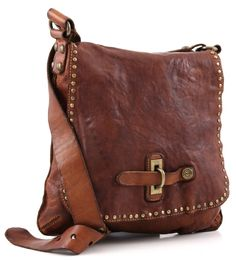 Campomaggi Lavata Shoulder Bag Leather cognac 29 cm - C1226VL-1702 | Designer Brands :: wardow.com
