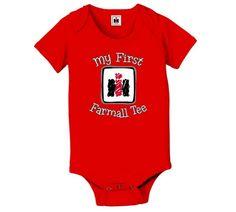 """Farmall """"My First Farmall"""" Infant And Newborn Onesie"""