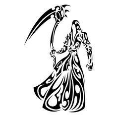 death tribal tattoo - Google zoeken