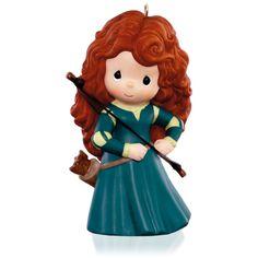Hallmark 2015 Disney/Pixar Precious Moments Brave Princess Merida Ornament X.