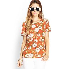 HDY Haoduoyi New Multi Color Women T-shirt Cute Short Sleeve Floral Print Tops For Female Casual Preppy Style Loose Basic Tees