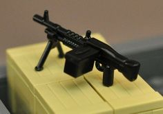 Lego M60 with removable box clip! http://www.brickmania.com/brickarms-m-60/