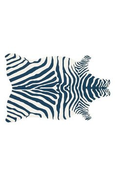 LOLOI+'Zadie'+Zebra+Woven+Rug+available+at+#Nordstrom