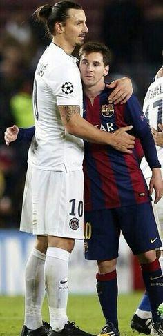 Ibra e Messi.
