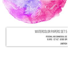 https://www.etsy.com/listing/234906354/sale-watercolor-papers-watercolor  Watercolor headers and footers in 10 different colors. Scrapbooking material. Pastels. Watercolor art borders, bunting, wedding invitation cards, rsvp cards,