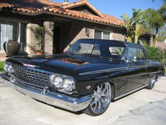Custom built 62 Impala for a cleint by   Tredair Motors.