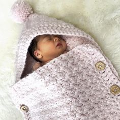888550d16bc Easy Baby Sleeping Bag Crochet pattern by Deborah O'Leary