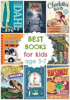 Top Books for Kids Ages 5-7