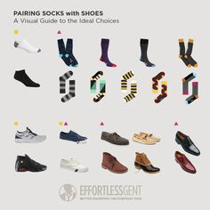 What socks to wear with what shoes www.effortlessgent.com