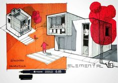 Interesting Find A Career In Architecture Ideas. Admirable Find A Career In Architecture Ideas. Architecture Concept Diagram, Architecture Sketchbook, Architecture Board, Architecture Graphics, Architecture Student, Interior Architecture, Interior Design Presentation, Architectural Presentation, Interior Sketch