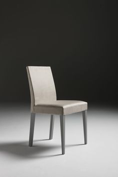 Contemporary chair / upholstered / in wood / leather GINZA + : CA04 A. Brito