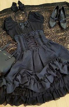 Goth lolita! Omg! Me encanta!! <3
