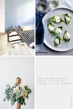 Sources [clockwise] : Muima - The Gourmet Traveller - French By Design - Liusa fguhginv