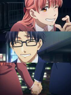 Hirotaka Nifuji x Narumi Momose / Wotaku ni Koi wa Muzukashii Otaku Anime, Anime Shojo, M Anime, Anime Love, Kawaii Anime, Anime Art, Koi, Ecchi, Cute Anime Wallpaper