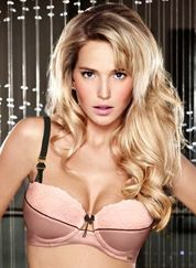 Created by Michelle Mone in 1996 Ultimo is one of the UK's leading designer lingerie brands. Witha wide range of beautiful styles they all come with either fixed or removable liquid silicone gel to add up to two cup sizes creating fantastic cleavag Designer Lingerie, Luxury Lingerie, Pale Pink, Pink Black, Pretty Bras, Summer Sale, Paleo, Glamour, My Style