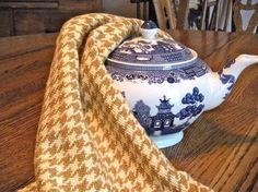 Handwoven towel kitchen  tea  hand towel par ThistleRoseWeaving