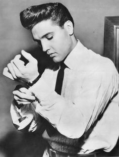 "theniftyfifties: "" Elvis Presley """