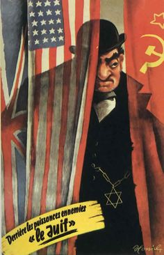Nazi Germany - Nazi Anti Semetic (Portraying Jews as evil people)