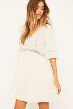 Staring at Stars Lace Floaty Dress | Urban Outfitters