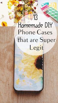 13 Homemade DIY Phone Cases that are Super Legit