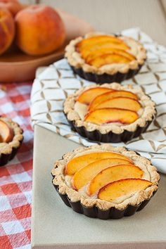 Gluten Free Peach-Almond Mini Tarts - goodness in every sip and spoonful.