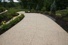 Exposed Aggregate Driveways - Triad Associates http://bit.ly/1e0fsGt