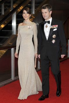 The Crown Prince and Crown Princess of Denmark in New York.
