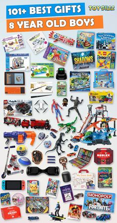 101 Gifts For 8 Year Old Boys Or Girls Birthdays Christmas
