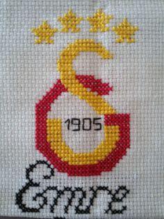 Galatasaray cross stitch football