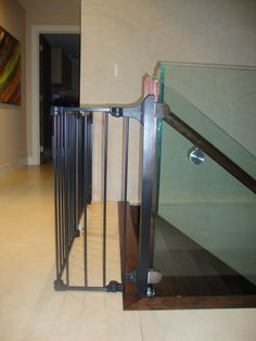 Baby Proof Your Banister With A DIY Fabric Banister Guard, Fabric Banister  Guard, Diy Banister Guard, Diy Stair Rail Guard, Diy Stair Case Baby Prou2026