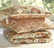 Cora Kalamkari Reversible Quilt & Sham