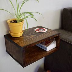Floating Nightstand/Bedside Table