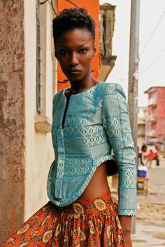 Sahara I Jacket by Loza Maleombho