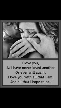 I love you ❤️