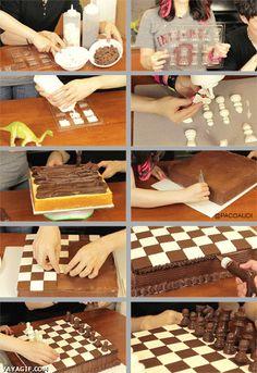 Planteado así, a todos nos interesaría bastante más el noble arte del ajedrez - ¡Cuánto daño!