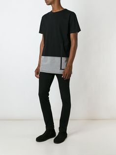 Letasca panelled T-shirt