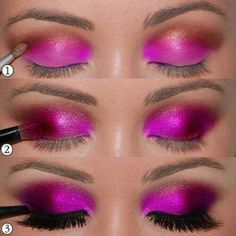 Eye Makeup Tips.Smokey Eye Makeup Tips - For a Catchy and Impressive Look All Things Beauty, Beauty Make Up, Hair Beauty, Beauty Nails, Love Makeup, Makeup Tips, Makeup Looks, Black Makeup, Makeup Ideas