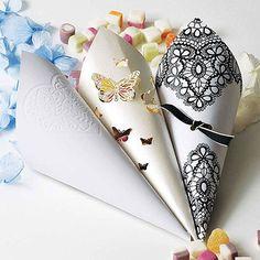 Grace DIY Heart Confetti Cones Pack
