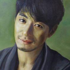 Oil on canvas by KOH                            'Joo jin mo portrait'