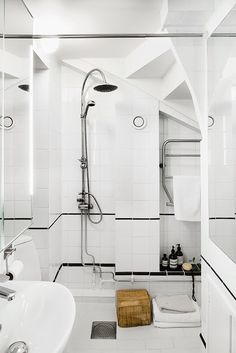 A fantastic Stockholm apartment with a vintage touch
