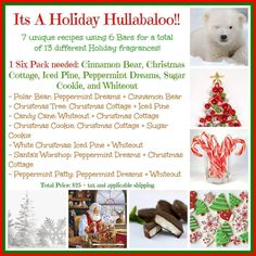 All about holiday scents!!